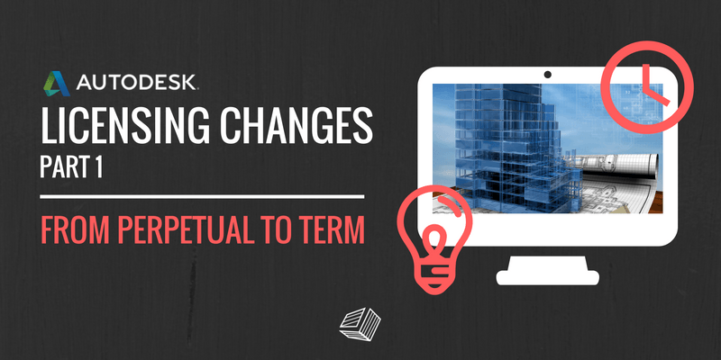 Key Features of Autodesk Licensing Changes - Perpetual to Term