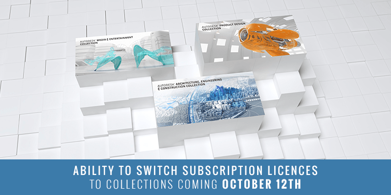 Switching your existing Subscription licenses to an Industry Collection