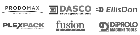 ellis don , prodomax , dasco, plexpack , fusion homes , dipaolo