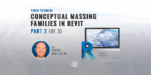 Conceptual Massing Families in Revit - Part 2