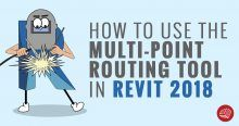 Fabrication - Use the Multi-Point Routing Tool in Revit 2018