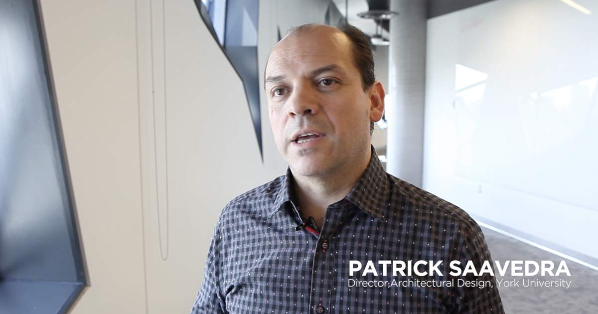 Patrick Saavedra, Director, Architectural Design, York University