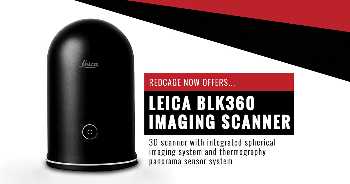 The Leica BLK360 Imaging Scanner