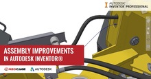 Assembly Improvements in Autodesk Inventor 2019