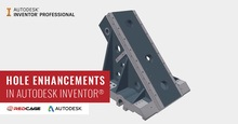 Hole Command Enhancements in Autodesk Inventor