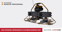 User Experience Improvements in Autodesk Inventor 2020