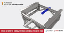 Frame Generator Improvements in Autodesk Inventor 2020