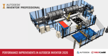 Performance Improvements in Autodesk Inventor 2020