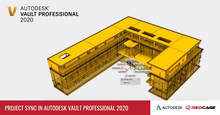 Project Sync in Autodesk Vault Professional 2020