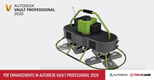PDF Enhancements in Autodesk Vault Professional 2020