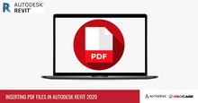 Inserting PDF Files In Autodesk Revit 2020