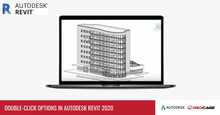 Double-click Options In Autodesk Revit 2020